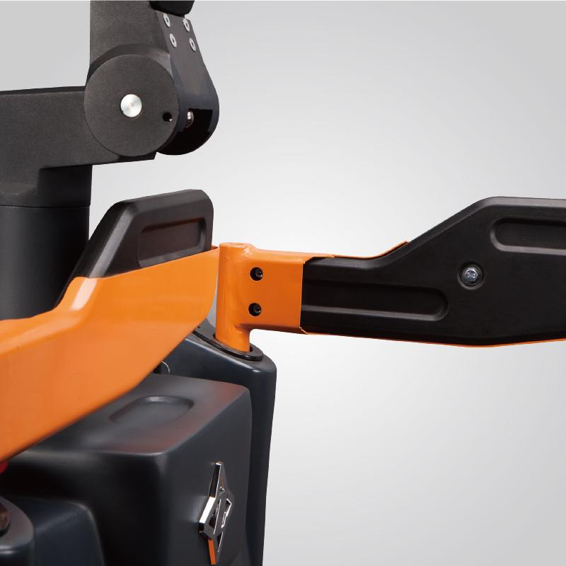 Electric flexible and durable pallet truck